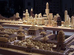 Edible City – Seoul 01 by Song Dong contemporary artwork