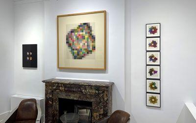 Exhibition view: Gottfried Jäger,Intersection Of Colour, Sous Les Etoiles Gallery, New York (25 September–27 November 2021). Courtesy Sous Les Etoiles Gallery.