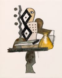 The Alchemist, New York by Irving Penn contemporary artwork works on paper
