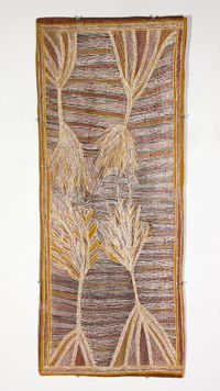 Dharpa by Mulkun Wirrpanda contemporary artwork painting
