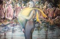 The Summer Ends No.3 by Cai Jiarui contemporary artwork painting, works on paper