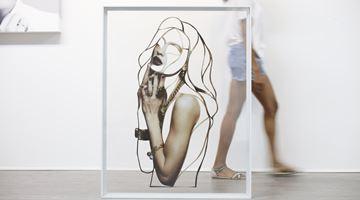 Contemporary art exhibition, Javier Martin, Infinite Light at MAKI, Omotesando, Tokyo
