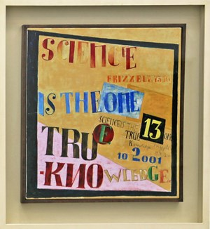 Science is the One True Knowledge by Dick Frizzell contemporary artwork