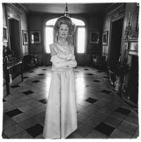 Mrs. T. Charlton Henry in an evening gown, Philadelphia, Pa. 1965 by Diane Arbus contemporary artwork photography