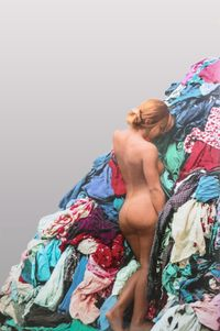 Venere-Persona-Alfa by Michelangelo Pistoletto contemporary artwork sculpture, print