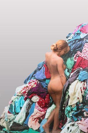 Venere-Persona-Alfa by Michelangelo Pistoletto contemporary artwork