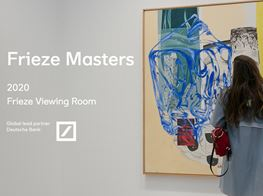 Frieze Masters Online 2020