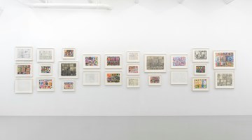Contemporary art exhibition, Stanley Whitney, Drawings at Lisson Gallery, New York