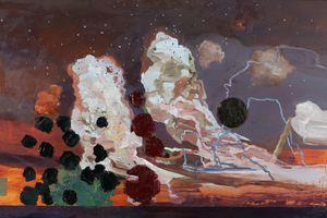 Two Rising Dragons by Kurt Chan contemporary artwork