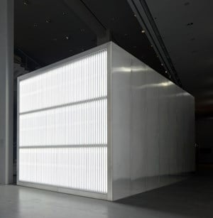 The Sound of Silence by Alfredo Jaar contemporary artwork