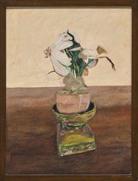 Fake Flowers Series 8 by Marina Cruz contemporary artwork painting