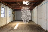 The dangler by Radhika Khimji contemporary artwork painting, sculpture, installation
