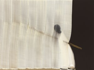 9 Brushstrokes over figure by Hyun-Sook Song contemporary artwork