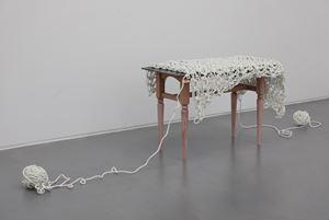 Work Bench - Table Cloth of Ariadne by Susumu Koshimizu contemporary artwork