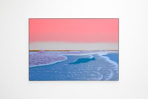 Rising to Meet You by Alex Dordoy contemporary artwork