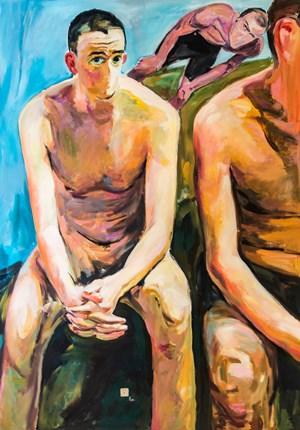 Sitting On The Sidelines 局內局外 by Fu-sheng Ku contemporary artwork