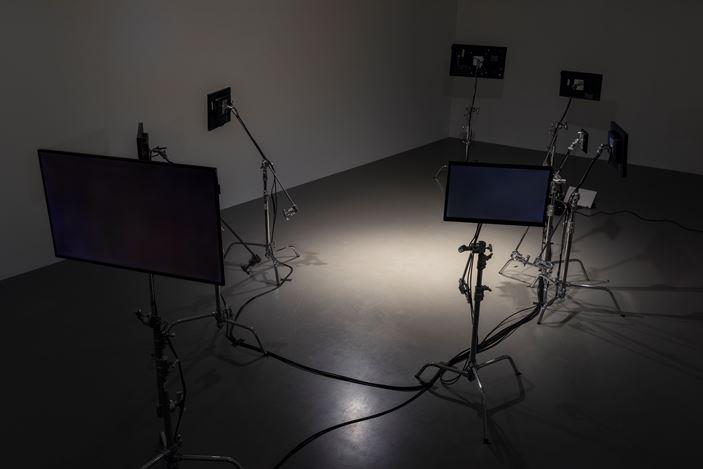 Exhibition view: Rirkrit Tiravanija, Pilar Corrias, London (4 October–4 November 2017). Courtesy the artist and Pilar Corrias. Photo: Damian Griffiths.