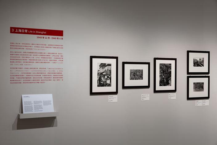 Exhibition view:Henri Cartier-Bresson: China 1948-1949 | 1958, Taipei Fine Arts Museum, Taiwan (20 July–1 November 2020). Courtesy Taipei Fine Arts Museum, Taiwan.