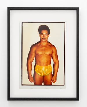 Mike Cole, runner-up Mr Pan Pacific 1980, Mr Auckland 1980 and third Mr New Zealand 1981, Auckland by Fiona Clark contemporary artwork