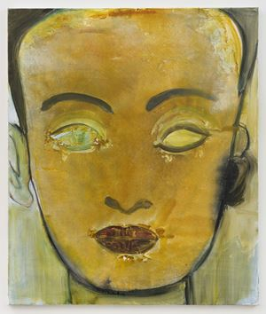 Nefertiti by Marlene Dumas contemporary artwork