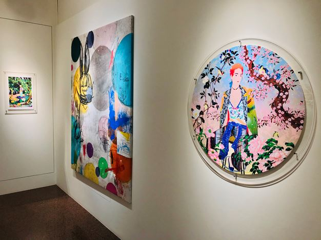 Exhibition view: MR+. Gin Huang Gallery, Taichung City (23 July–TBC 2020). Courtesy Gin Huang Gallery