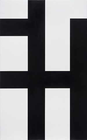 Ohne Titel by Helmut Federle contemporary artwork
