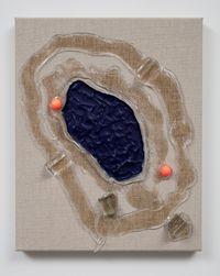 Blue Pool by Judy Darragh contemporary artwork mixed media