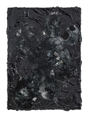 Glimmer painting #1 by André Hemer contemporary artwork