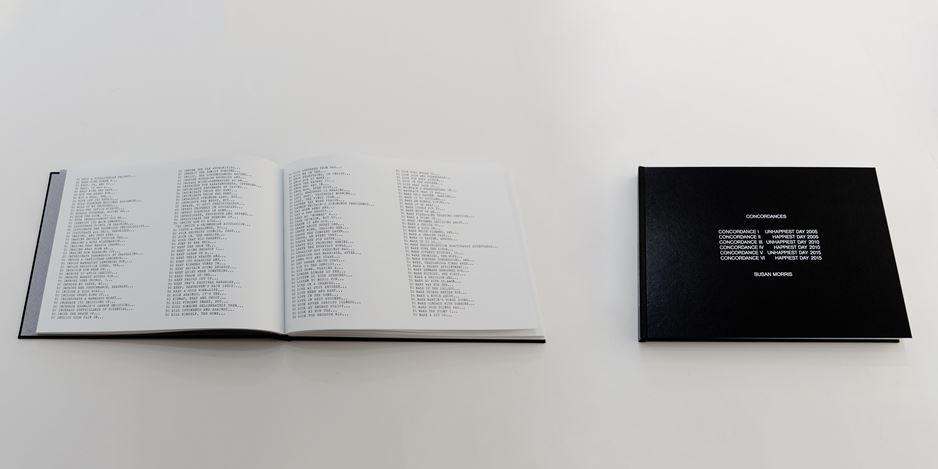 Exhibition view:Stefana McClure & Susan Morris, The Sleeper, Bartha Contemporary, London (30 January–29 February 2020). Courtesy Bartha Contemporary.