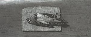Oiseau by Youssef Abdelke contemporary artwork