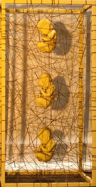 Caged Parts 2 by Gabriel Barredo contemporary artwork
