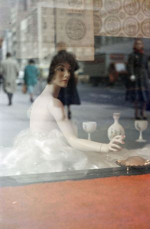 Mannequin by Saul Leiter contemporary artwork