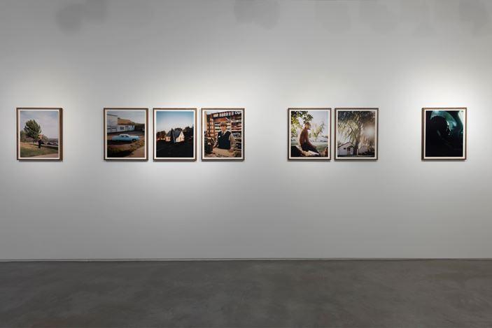 Exhibition view: Gregory Halpern, Omaha Stetchbook, Huxley-Parlour, Lndon (19 September–12 October 2019). Courtesy Huxley-Parlour.