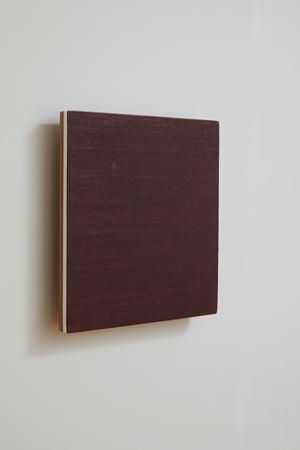 Monoprint - deep red/pink #1 by Noel Ivanoff contemporary artwork