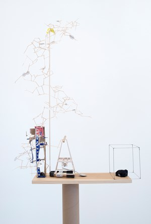 Model for a First Impression by Sarah Sze contemporary artwork