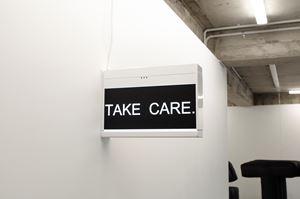 TAKE CARE. by Elisabeth Pointon contemporary artwork sculpture
