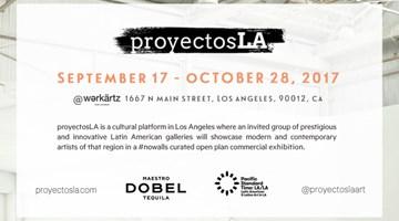 Contemporary art exhibition, proyectos LA at Ocula Advisory, Los Angeles, USA