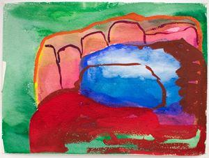 Untitled (Rocks) by Brenda Nightingale contemporary artwork