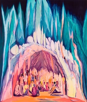 Cave Country by Jules de Balincourt contemporary artwork