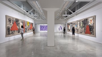 Contemporary art exhibition, Manuel Ocampo, Ideological Mash-Up/Remix at STPI - Creative Workshop & Gallery, Singapore