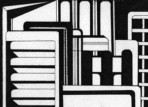 Non-Architectural Renderings 5 by Heba Y. Amin contemporary artwork