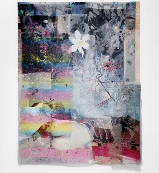 Mimosa Echard at Galerie Chantal Crousel 1