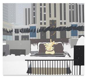 Black Flag Rock Center by Brian Alfred contemporary artwork