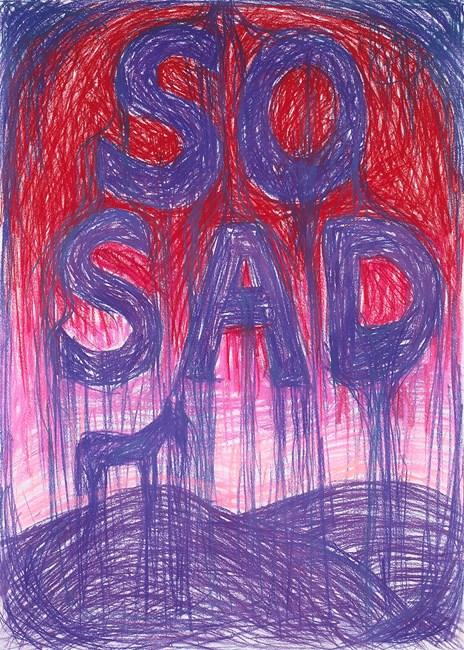 So Sad by Anastasia Klose contemporary artwork