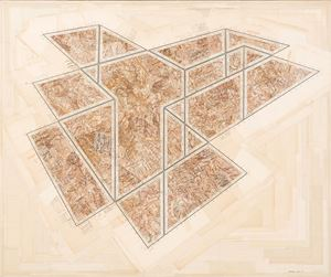 The same place, excavated twice by Gerhard Marx contemporary artwork