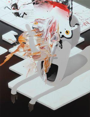 Feeded by José Castiella contemporary artwork painting