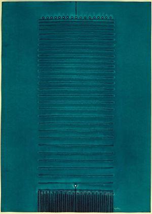 Aguna II by Sohan Qadri contemporary artwork works on paper