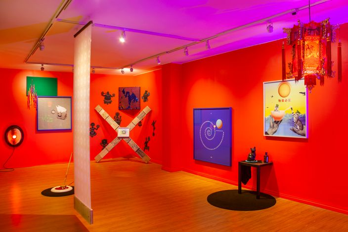 Exhibition view:Andrés Matías Pinilla,Nadie escuchar cantar a los huesos curated by Joaquín Barrera, FORO.SPACE,Bogotá (6 March–5 June 2021). Courtesy FORO.SPACE.