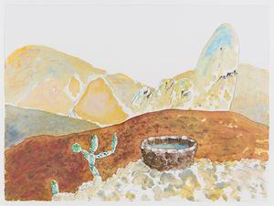 Al Araba Al Madfuna, Drawing by Wael Shawky contemporary artwork