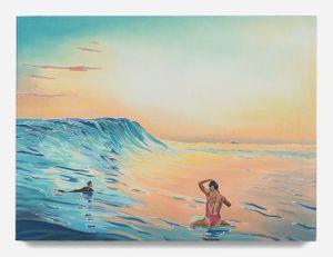 Evening Glass by Adam De Boer contemporary artwork painting